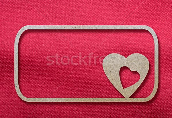 праздник карт сердце бумаги дизайна Сток-фото © inxti