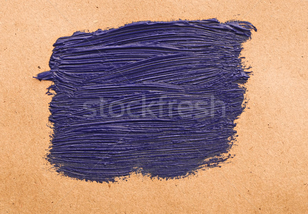 blue stroke on recycle paper texture background Stock photo © inxti