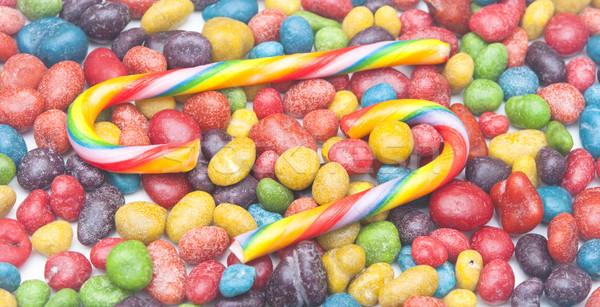Coloré bonbons texture alimentaire rouge couleur Photo stock © inxti