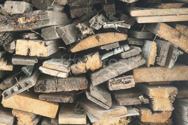 fire wood, log, billet  Stock photo © inxti