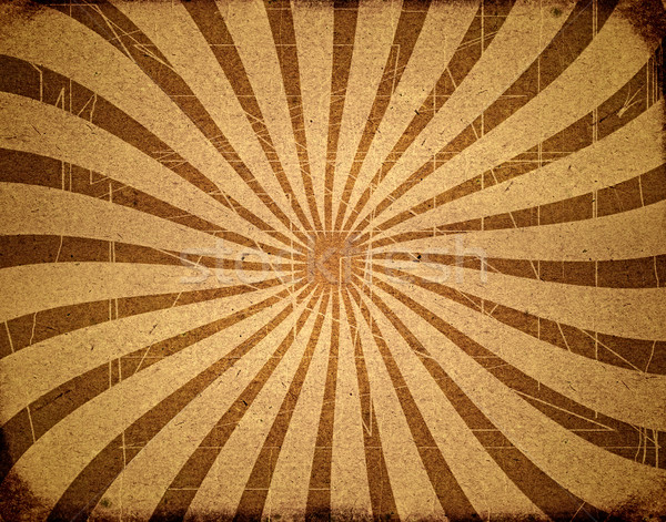 レトロな パターン 太陽 抽象的な フレーム 芸術 ストックフォト © inxti