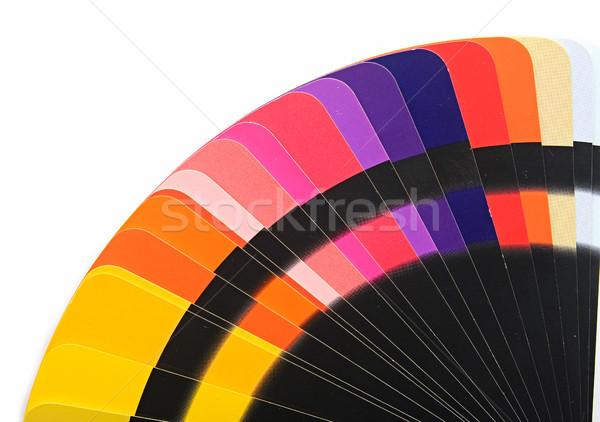 цвета спектр палитра радуга карт шаблон Сток-фото © inxti