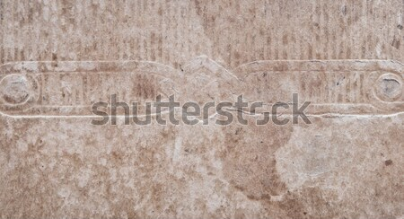 Aged, yellowing paper with creases, stains and smudges.  Stock photo © inxti