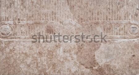 Kopott papír foltok textúra háttér retro Stock fotó © inxti