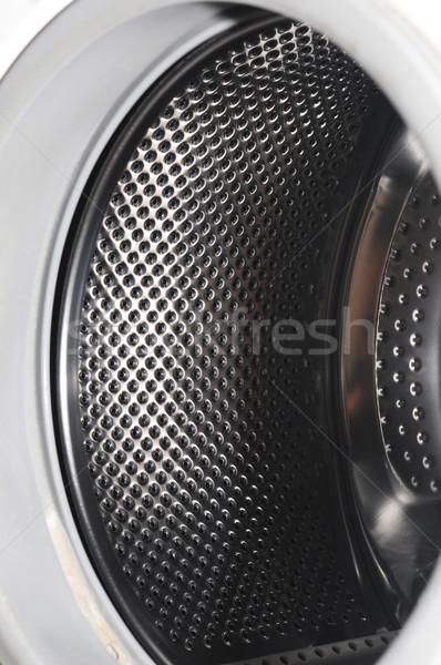 Interior view of a washing machine drum  Stock photo © inxti