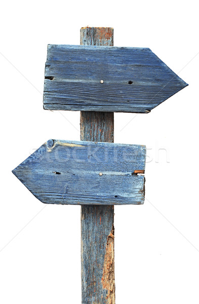 Сток-фото: Стрелки · дорожный · знак · изолированный · белый · дороги