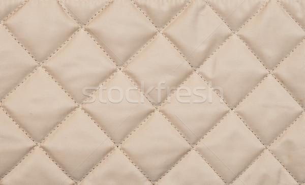 Beige quilted background  Stock photo © inxti