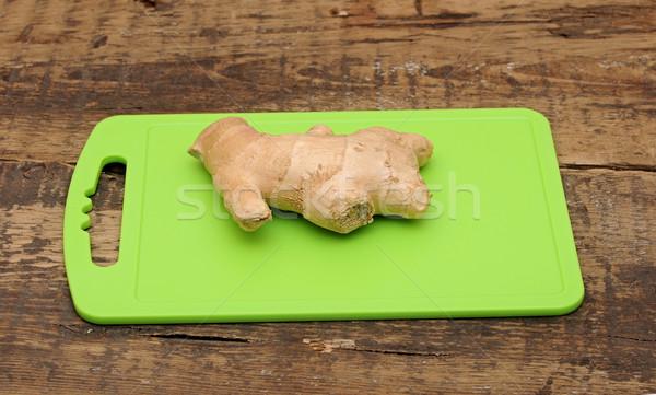 Foto stock: Fresco · gengibre · raiz · comida · alimentação · vegetal