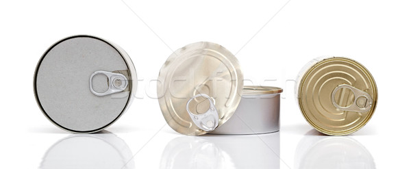 can of food preservation Stock photo © inxti