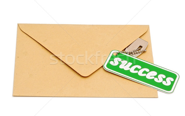 Clave éxito marrón dotación negocios financiar Foto stock © inxti