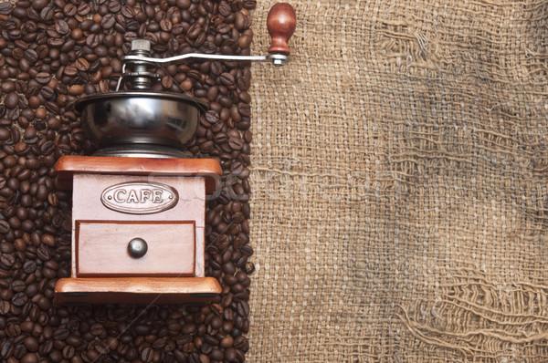 Kahve öğütücü mutfak içmek Stok fotoğraf © inxti