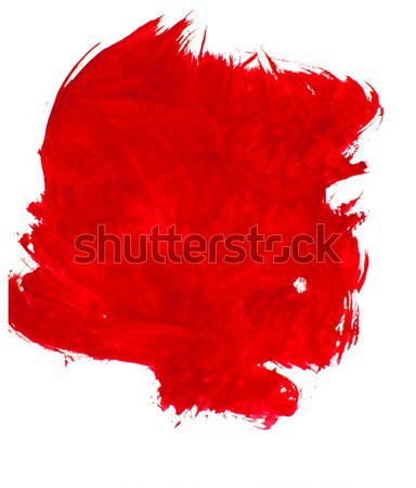 red paint on a white background  Stock photo © inxti