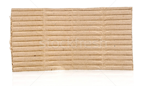 Corrugated cardboard texture  Stock photo © inxti