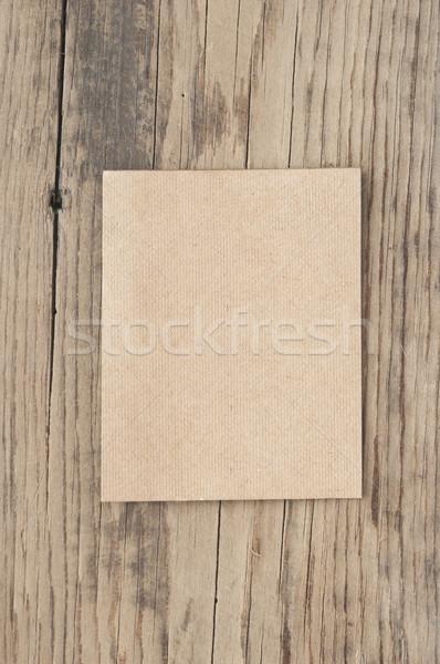 Eski kağıt eski ahşap soyut arka plan güzellik sanat Stok fotoğraf © inxti