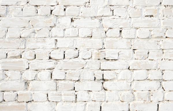 A white brick wall  Stock photo © inxti