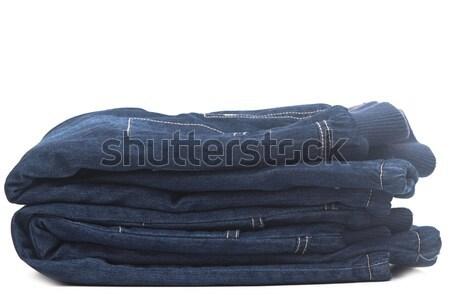 Witte mode licht jeans Stockfoto © inxti
