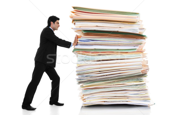 Paper Pusher Stock photo © iodrakon