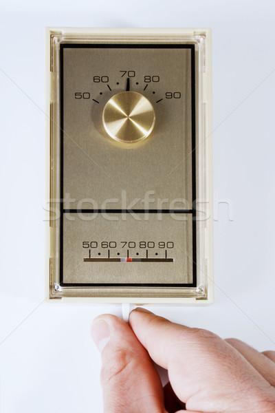 термостат складе изображение стороны лет зима Сток-фото © iodrakon