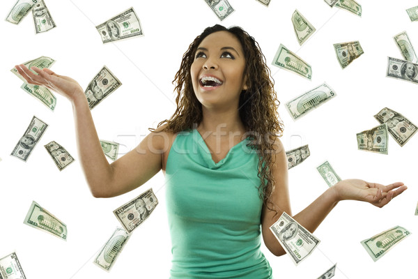 Its raining money Stock photo © iodrakon