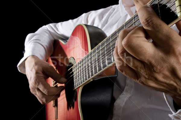 Guitarist Stock photo © iodrakon