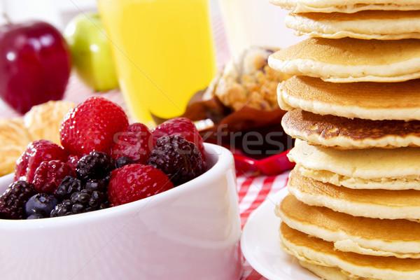 Pancake Breakfast Stock photo © iodrakon