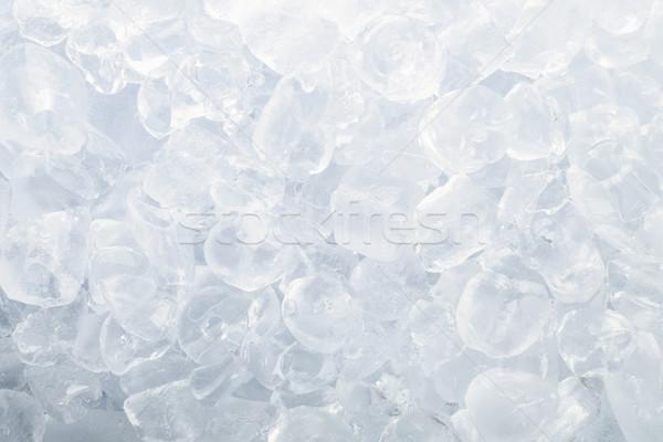 Ghiaccio stock immagine cubo congelato Foto d'archivio © iodrakon