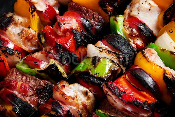 Kebabs Stock photo © iodrakon