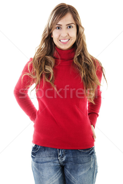 Casual Woman Stock photo © iodrakon