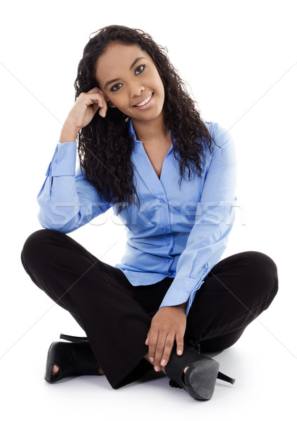 Young Businesswoman Stock photo © iodrakon