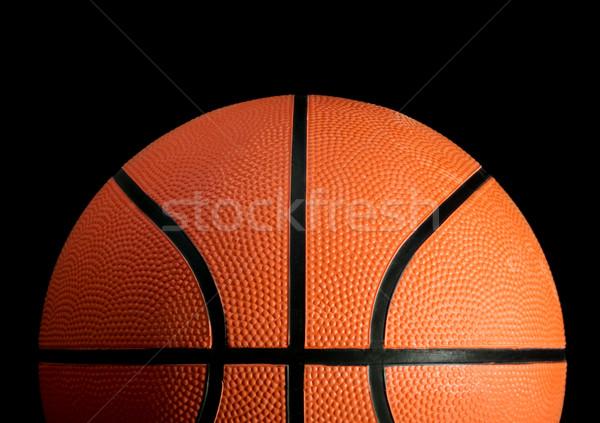 Baloncesto stock imagen negro espacio pelota Foto stock © iodrakon