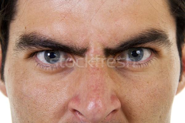 Zangado patrão estoque imagem masculino Foto stock © iodrakon