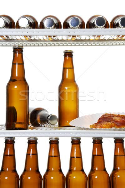 Well stocked fridge Stock photo © iodrakon