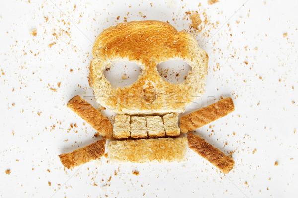 Bread Crossbones Stock photo © iodrakon