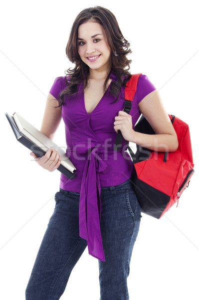 Young female student Stock photo © iodrakon