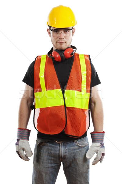 Construction Worker Stock photo © iodrakon