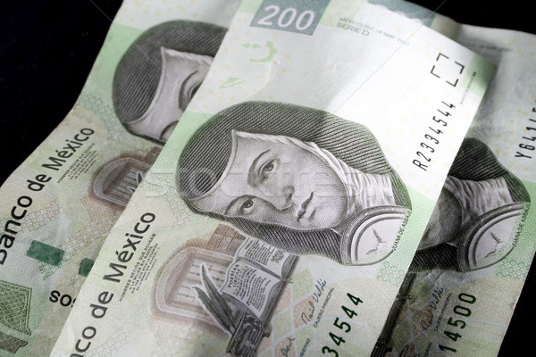 Mexican Money Stock photo © iodrakon