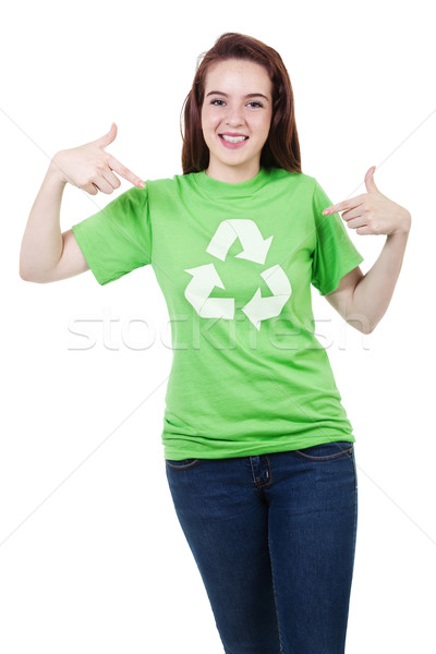 Please Recycle Stock photo © iodrakon