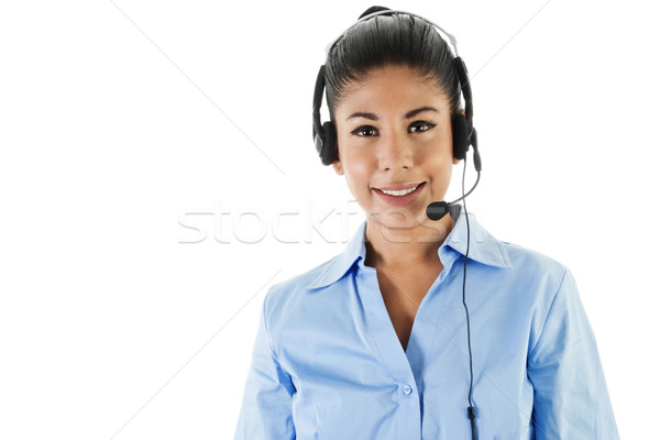 Call center operator  Stock photo © iodrakon