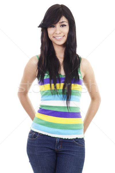 Casual woman Stock photo © iodrakon