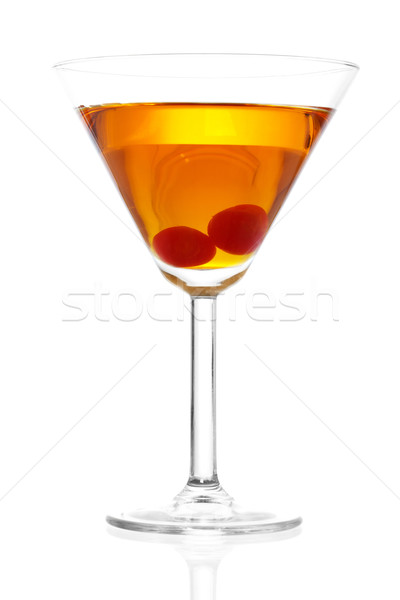 Manhattan Cocktail Stock photo © iodrakon