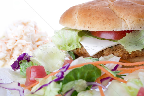 Veggie Burger Stock photo © iodrakon