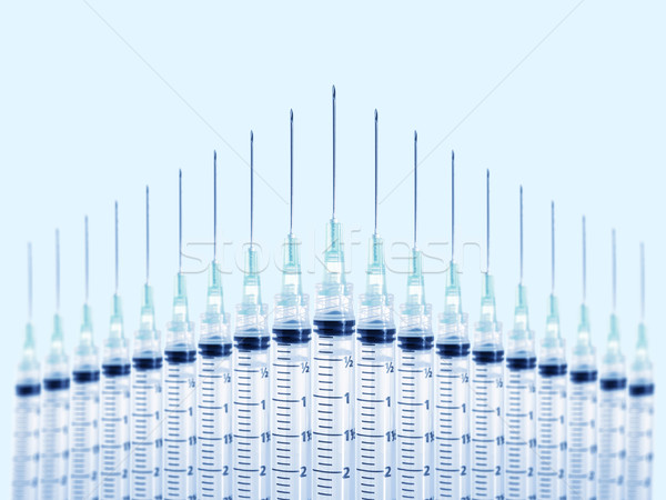 Syringes Stock photo © iodrakon