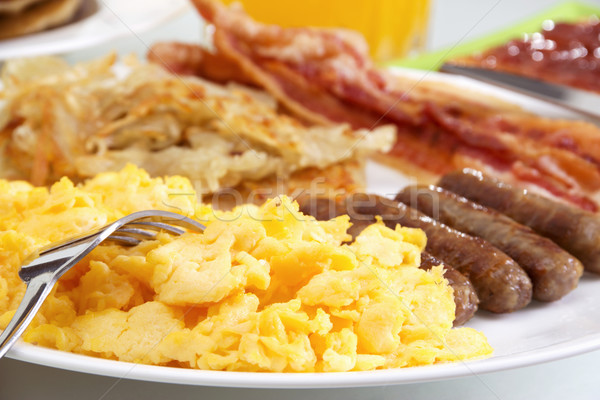 Hearty Breakfast Stock photo © iodrakon