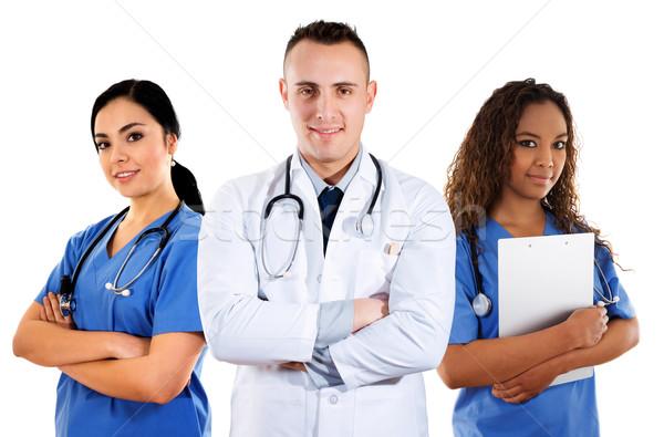 医療 チーム 在庫 画像 白 医師 ストックフォト © iodrakon