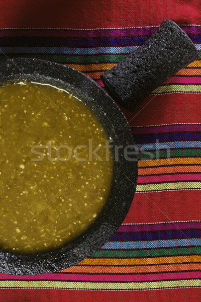 Salsa verde Stock photo © iodrakon