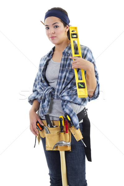 Repairwoman Stock photo © iodrakon