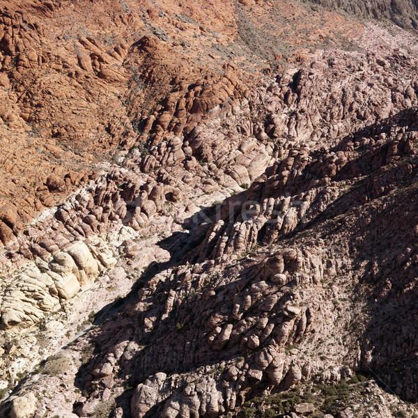 Antenne zuidwest luchtfoto Rood rock Stockfoto © iofoto