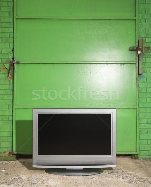 Television still life. Stock photo © iofoto