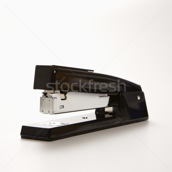 Foto d'archivio: Cucitrice · nero · bianco · ufficio · metal · colore