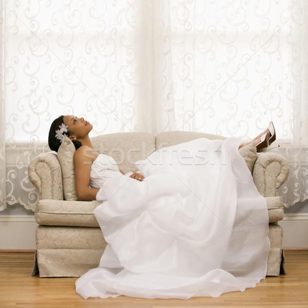Bridal portrait. Stock photo © iofoto